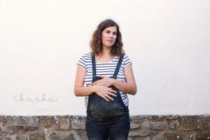 Fotografía de www.ikuxka.com en mi último embarazo.